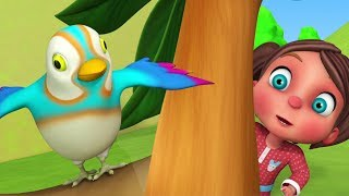 Kuhu Kuhu Bole Koyal | Hindi Nursery Rhymes | Little Tree House India | कुहू कुहू बोले कोयल