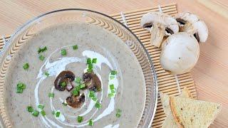 Грибной суп-пюре ☆ Mushroom cream soup