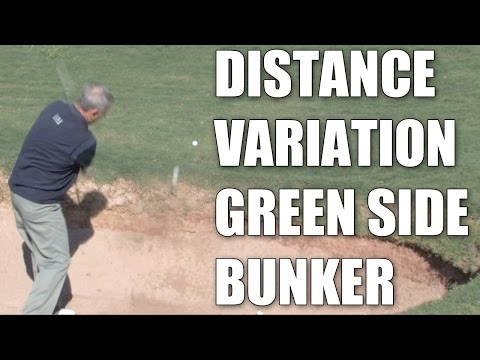 Mike Davis – Vary the Distance Green Side Bunker