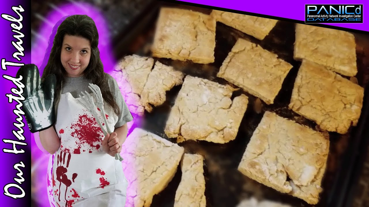 How to Make Soldier's Hardtack | Our Haunted Travels by: PANICdVideos - Our Haunted Travels