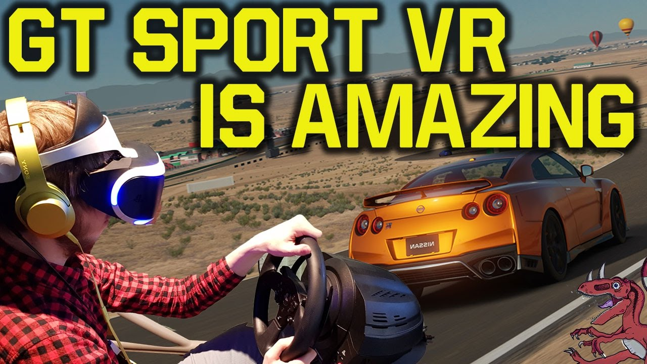 gran turismo sport vr gameplay amazing farpoint more hands on with new ps4 games ps vr. Black Bedroom Furniture Sets. Home Design Ideas