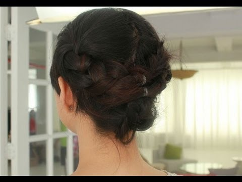 How to: Triple Braided Hairstyle Tutorial