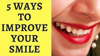 5 Ways to Improve Your Smile
