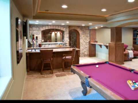 finished basements basement remodeling - Basement Finishing Design