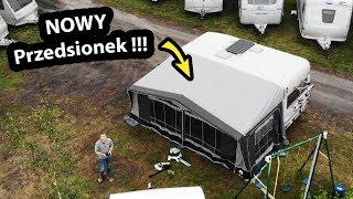 Odbieram Przedsionek w Świecie Kempingów !!! - Jak Wygląda? + ROOM TOUR po Przyczepach Kempingowych