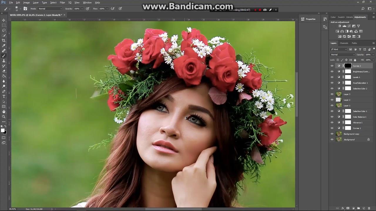 Simple Editing Foto dengan Photoshop CC 2017 #2 - YouTube