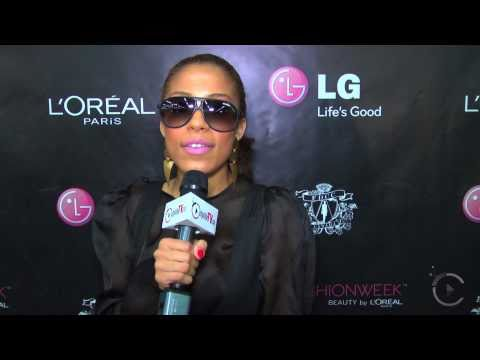 Keshia Chante, LG Fashion Week, citylifeTV.ca