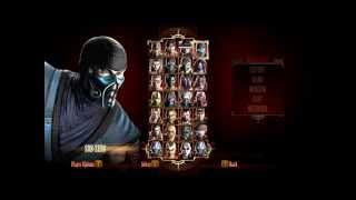 Mortal Kombat Komplete Edition: SUB-ZERO Vs FREDDY KRUEGER [HD]