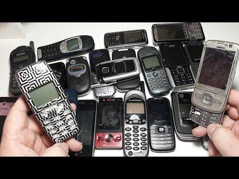 80 Телефонов посылка из Германии за 30$. Часть №2. Nokia 6610s. Nokia Navigator 6710s.