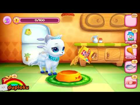 Game Kitty Love My Fluffy Friend Duploku - 동영상