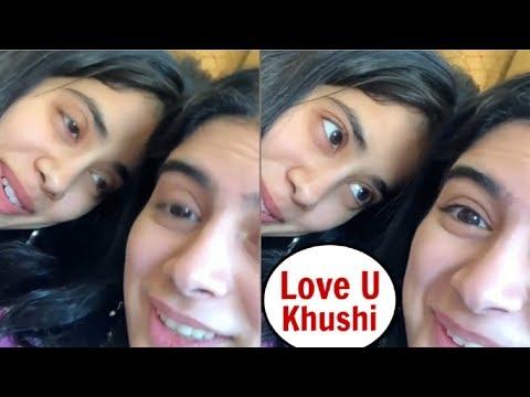 Jhanvi Kapoor CUTE Birthday Wish Video For Sister Khushi Kapoor Mp3