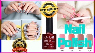 How To Use Gel Nail Polish | How To Apply Gel Nails At Home🌹 Healthy Nail Polish❕How To Do Gel Nails