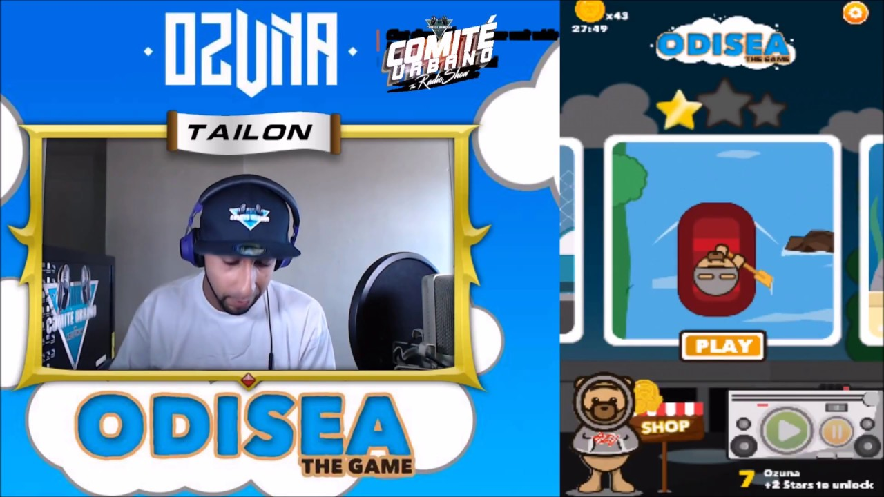 Ozuna - ODISEA - The Game - Gameplay - (Nivel 5-10) / Final Review - Comite Urbano - Tailoncw