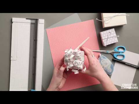 Paper Gift Boxes Project By Creative Memories