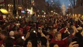 Wisconsin Fans Go Wild After Elite 8 Victory   CampusInsiders