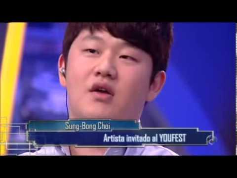 Korea's Got Talent Sung Bong Choi in El Homiguero - YouTube