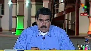 Nicolás Maduro pidió la renuncia de todo su gabinete
