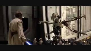 Star Wars 1-6 lightsaber battles Requiem for a Dream (1080p)