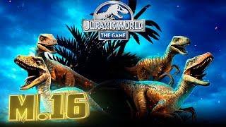 Новые Рапторы и Битва Титанов - Jurassic World The Game #201