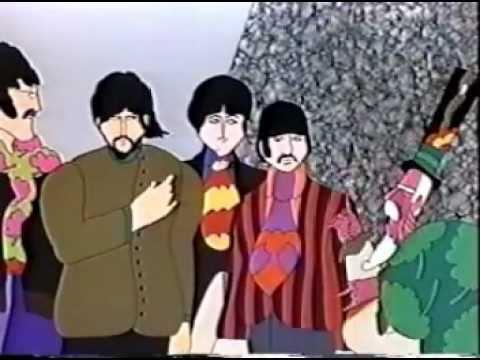 Beatles Yellow Submarine 1999 video VHS ad