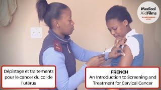 Dépistage et traitements pour le cancer du col de l'utérus