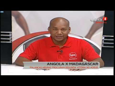 Angola vs Madagáscar (Qualificação para o CAN 2017 - 6ª Jornada)
