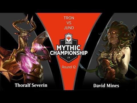 Round 12 (Modern): Thoralf Severin Vs David Mines - 2019 Mythic Championship IV