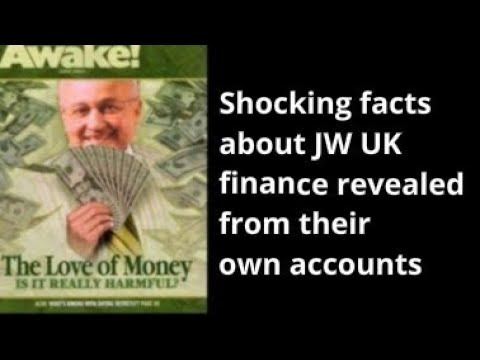 Shocking facts about Watchtower's UK Charity. (mirror)