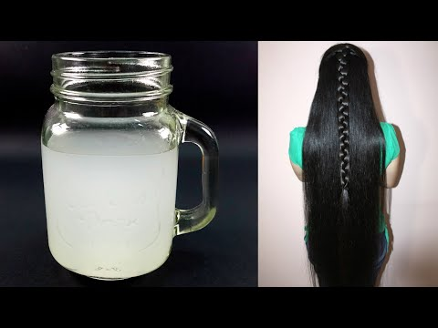 How to Prepare Fermented Rice Water for Super Glossy, Long & Silky Hair