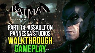 Batman Arkham Knight Part 14: Assault on Panessa Studio 1/2