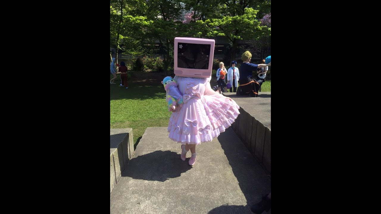 tv head costume. how to make a tv/computer head tv costume -