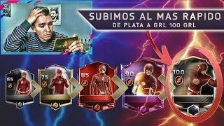 SUBIMOS UN JUGADOR A 100 DE GRL !!! EL MAS RAPIDO DEL JUEGO ?    FIFA 18 MOBILE