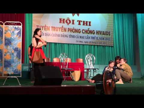 Hội thi Tuyên truyền phòng chống HIV/AISD- Bệnh viện Sản Nhi Cà Mau