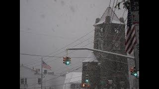November Snowfall cripples Long Island