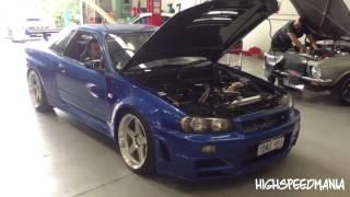 The Best Turbo Sound EVER! - Nissan Skyline GT-R R34!