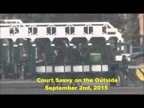 Court Savvy Gate Work + Breeze in Saratoga August 31 and September 2, 2015