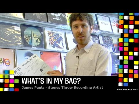 James Pants - What's In My Bag?