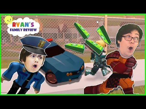 Roblox Team Police Officer Chase Battle! Let's play with Ryan's Family Review