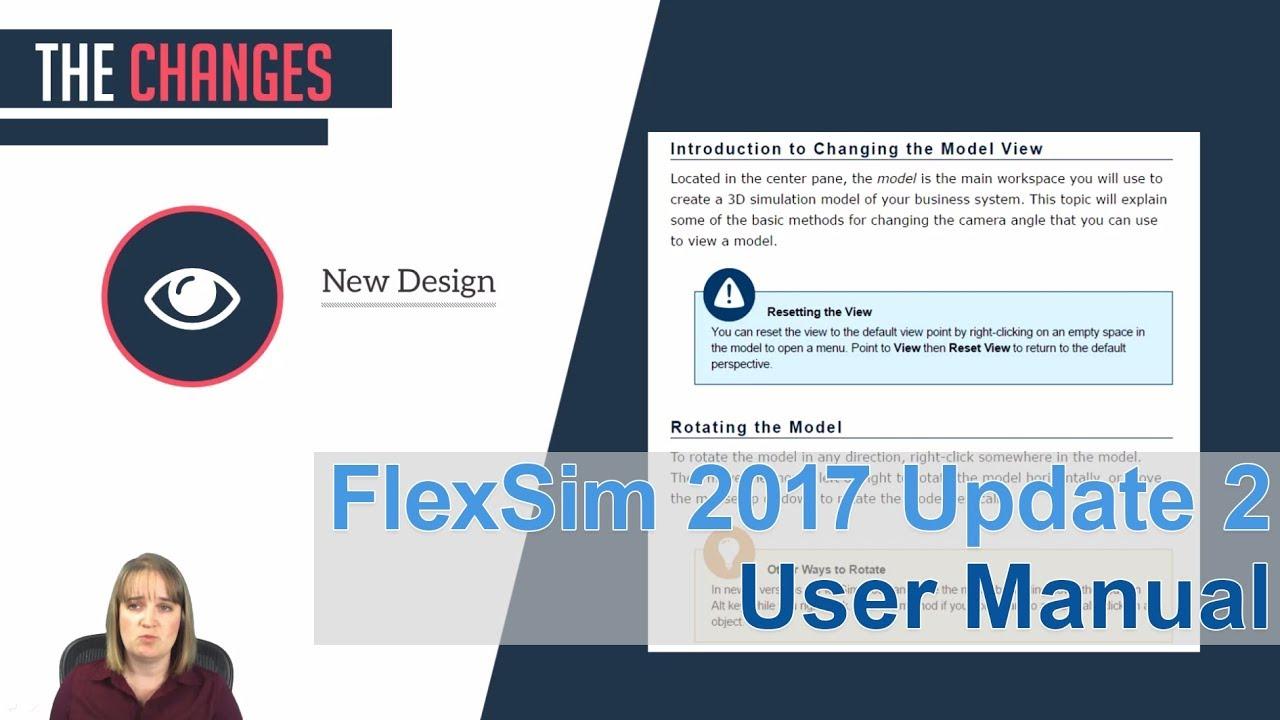 flexsim 2017 update 2 user manual improvement youtube rh youtube com Flexsim AGV Flexsim HC