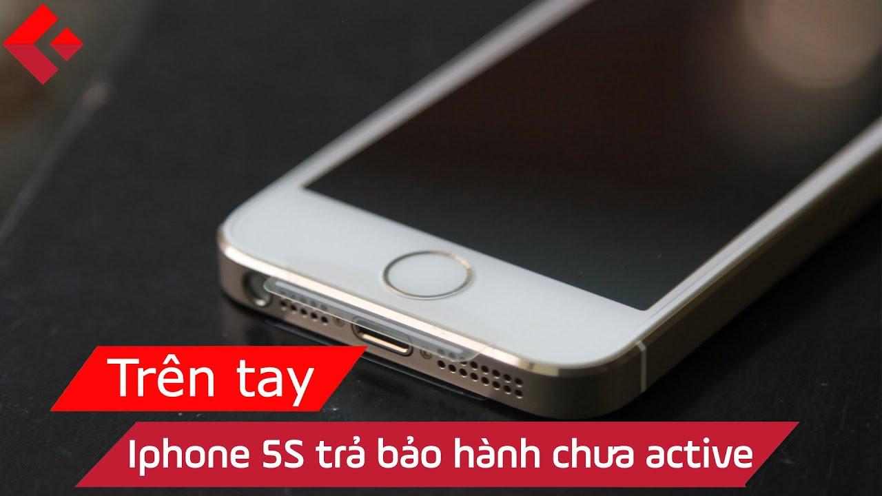 Clickbuy - Rạch Seal và trên tay iPhone 5s trả bảo hành chưa active - Ngon  - YouTube