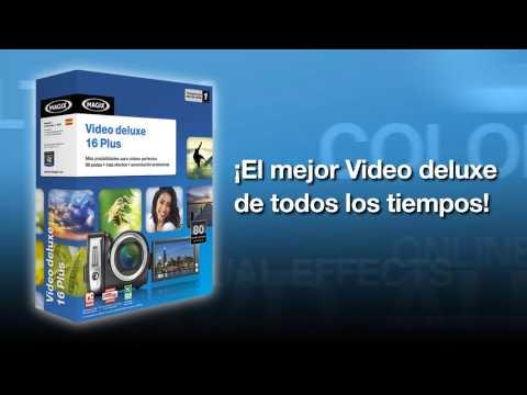 MAGIX Video deluxe 16 Plus (español) - El mejor Video deluxe de todos los tiempos