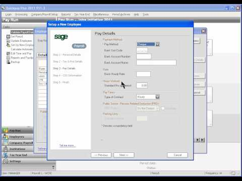 Computerised Payroll using Sage Quickpay