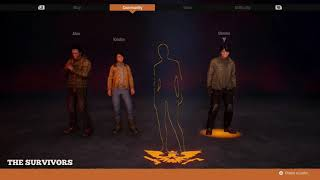 State of Decay 2 how to start new game using Legacy survivors