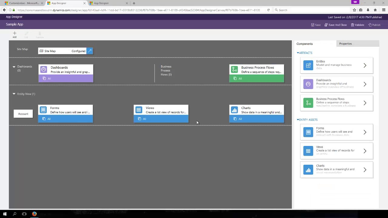 dynamics 365 sitemap and app designers youtube