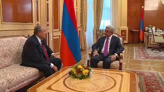 Արմեն Սարգսյանն ընդունել է ՀՀ նախագահի թեկնածու դառնալու առաջարկը