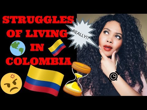 STRUGGLES OF LIVING IN COLOMBIA 🇨🇴😓 | Medellin, Bogota, Cartagena, Cali | Chanelle Adams