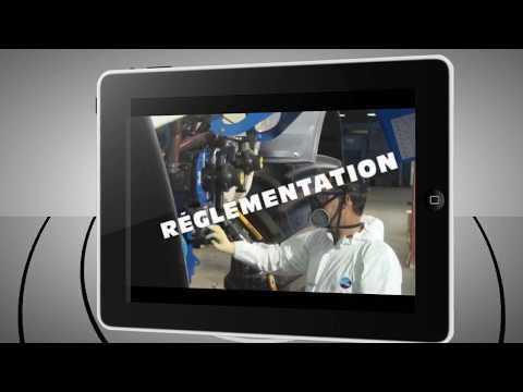 Application Ipad Touch & Diag par Axe Environnement