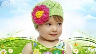 Летние шапочки для детей