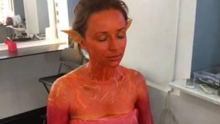 Женщина огонь, курсы гримеров