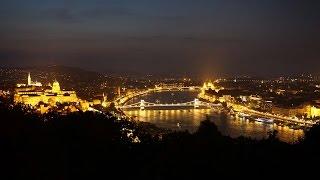 ハンガリー1 世界遺産ブダペストの夜景